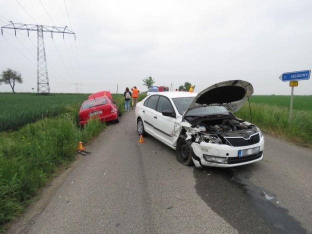 nehoda určice