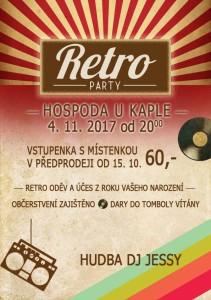 Retro party Pěnčín