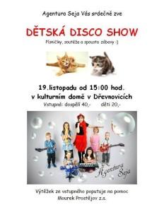 dětská disco show