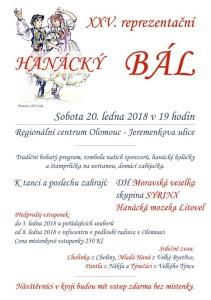 Hanácký bál Olomouc