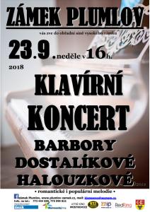 Koncert Halouzková