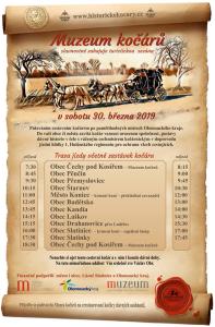 otevření sezony muzeum kočárů